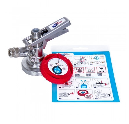 KeyKeg Dispensing Starter Kit 5/8 (DSI) - Fatkobling